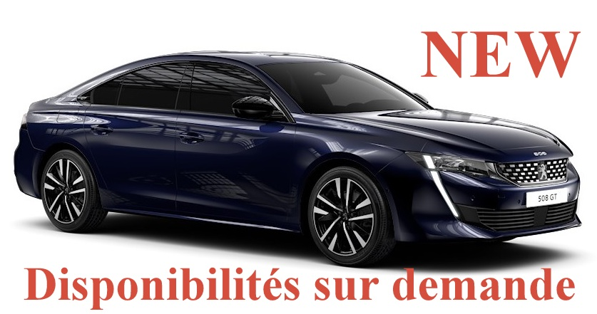 Peugeot 508 NEW ALLURE PACK 1.5 BlueHdi 130 ch EAT8
